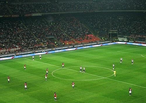Pravila fudbala - Početak i nastavak igre