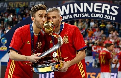 Pobednici evropskog prvenstva u Futsalu