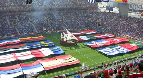 Ceremonija otvaranja evropskog prvenstva u fudbalu