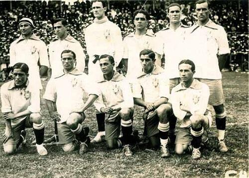Tim Brazila iz 1919. na Kupu Južne Amerike