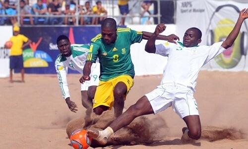 Afrički kup nacija fudbal na pesku