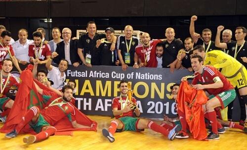 Pobednici afrički kup nacija u futsalu