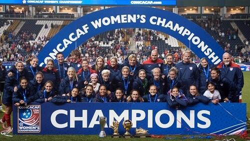 CONCACAF prvenstvo za žene u fudbalu, pobednice