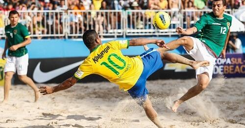 FIFASvetsko prvenstvo u fudbalu na pesku, utakmica