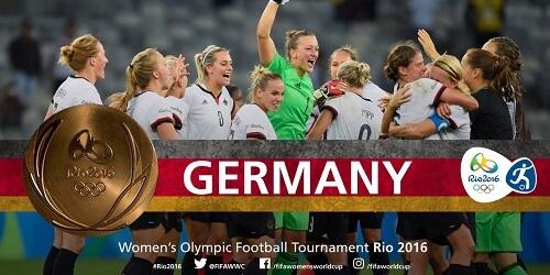 Olimpijski fudbalski turnir za žene, pobednice