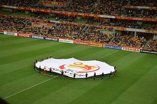 AFC Azijski kup, ceremonija