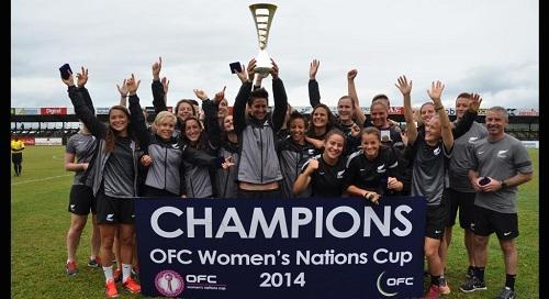 OFC Kup nacija za žene, pobednice